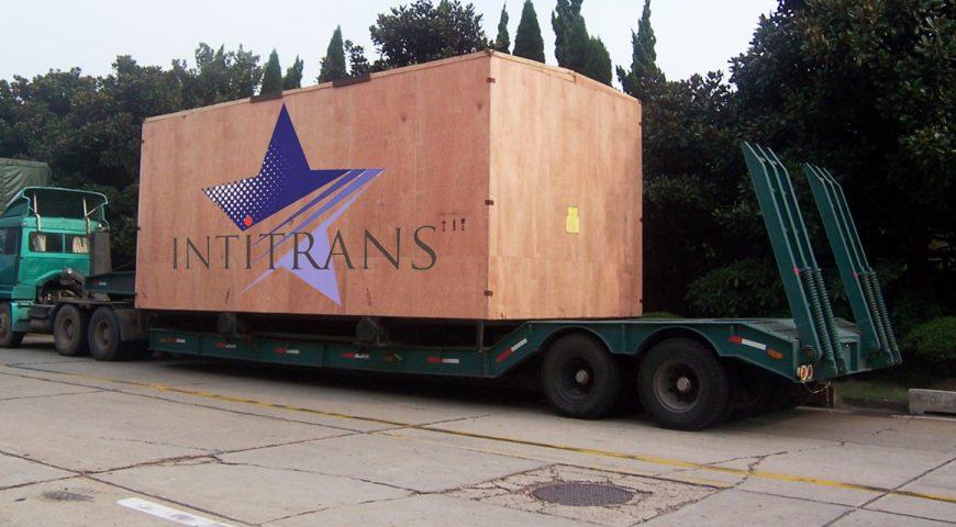 Intitrans freight forwarder Indonesia